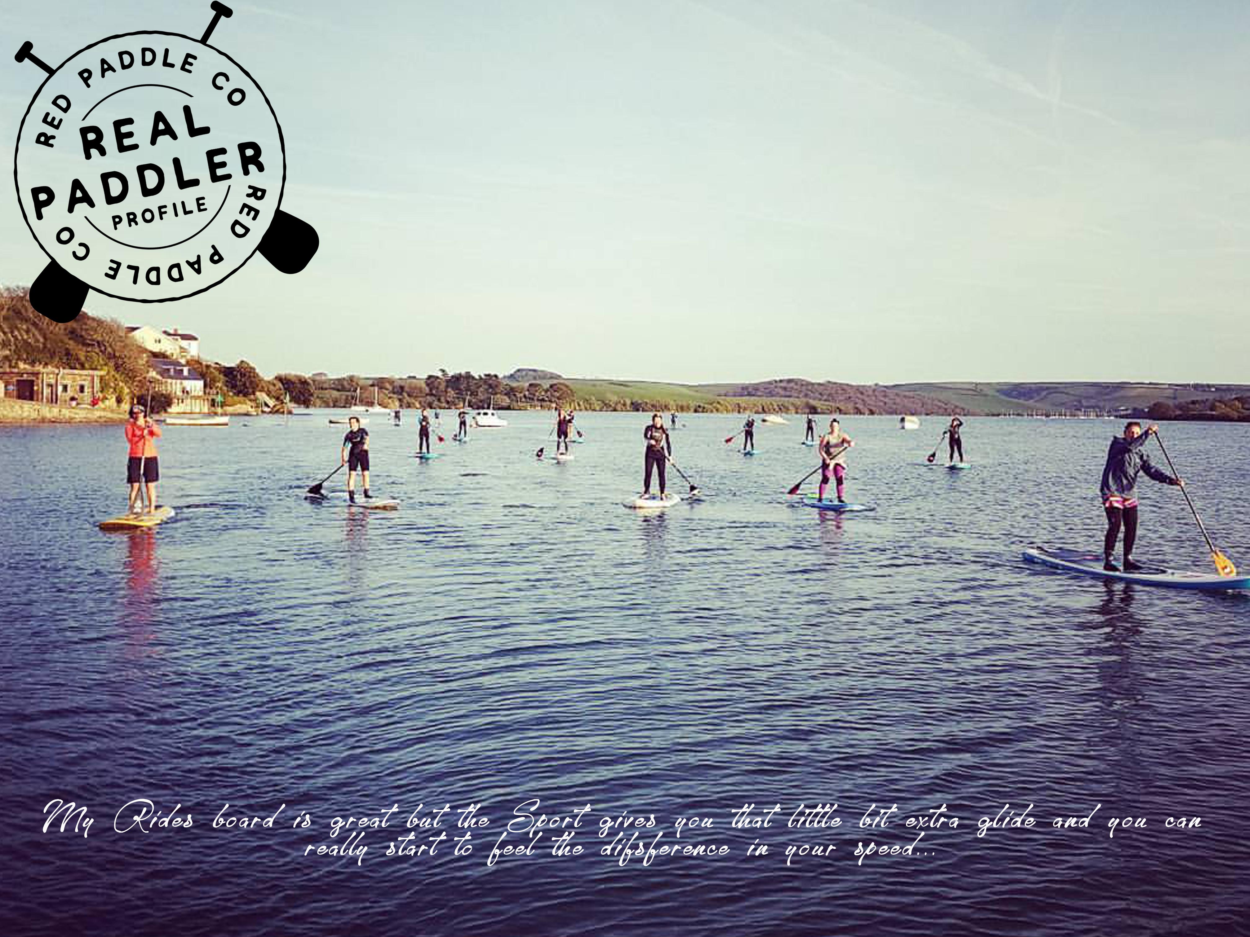 Womens paddle boarding Devon