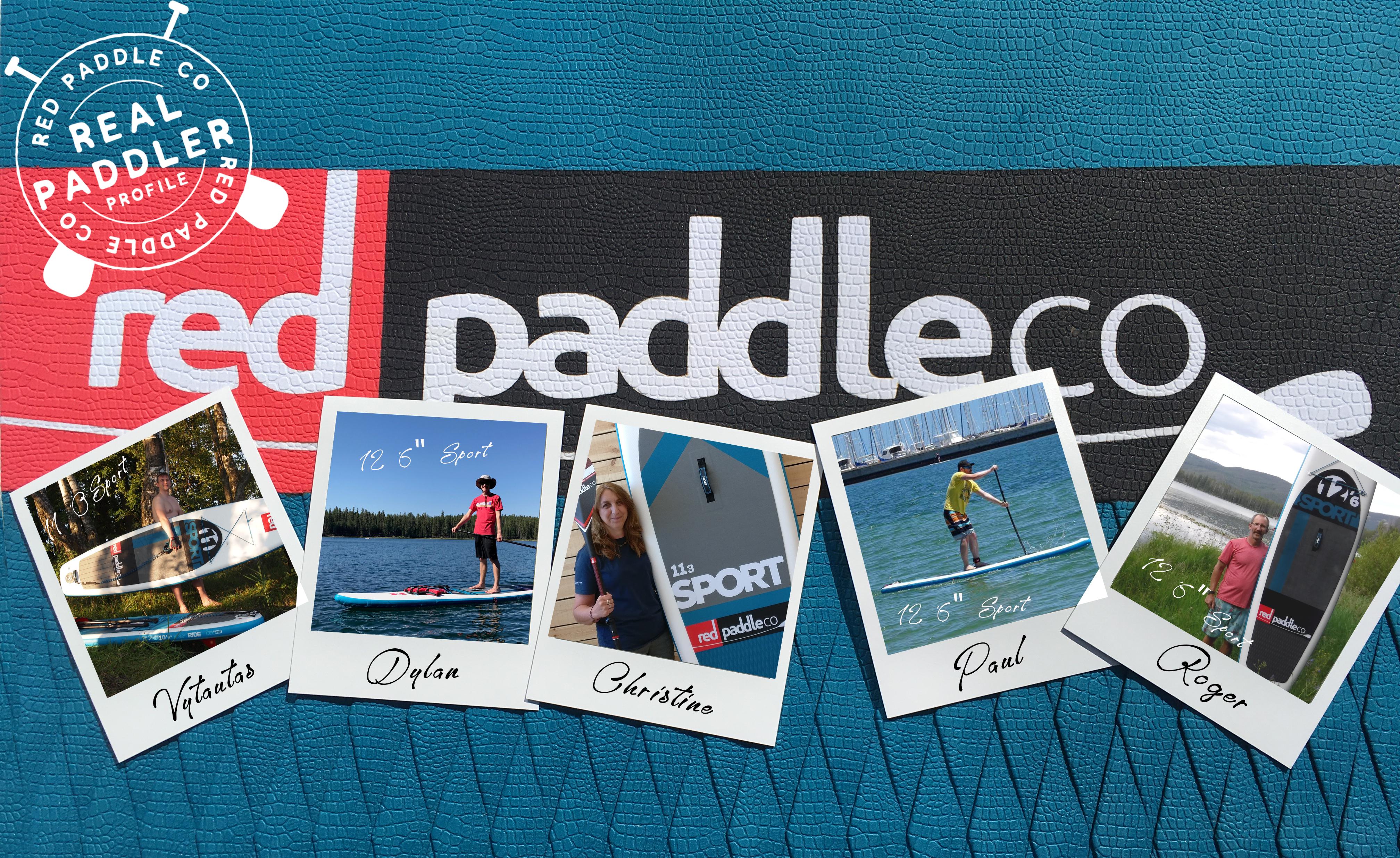 Sport paddle board profiles