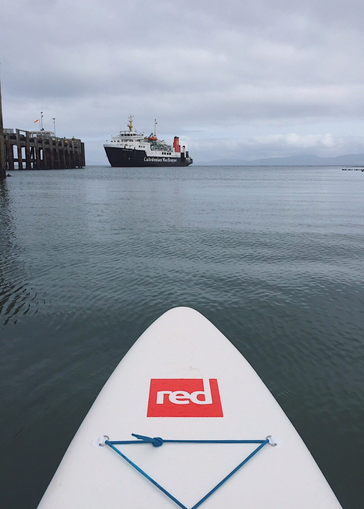 Paddle board and Ferry