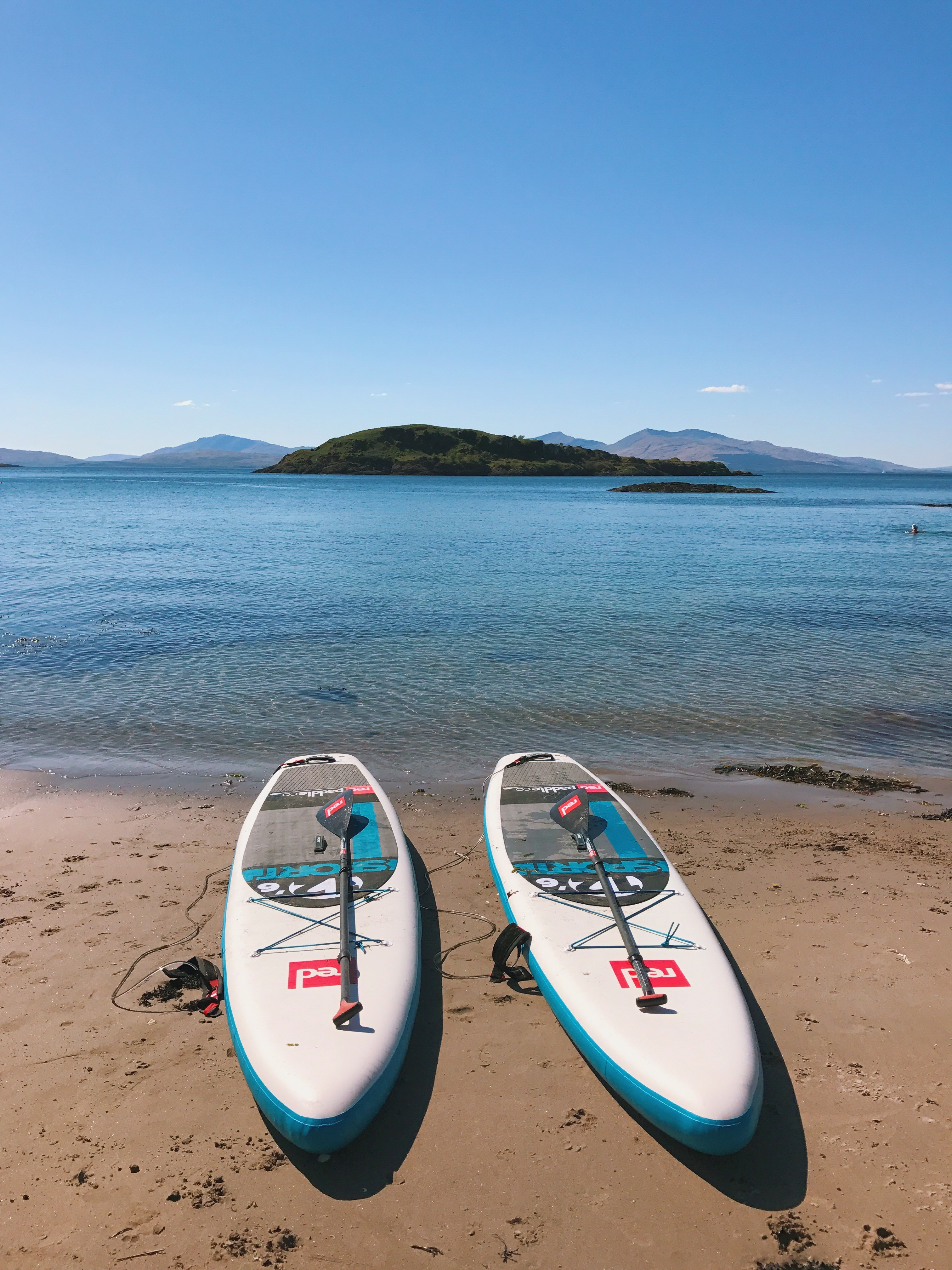 Beach paddle boards