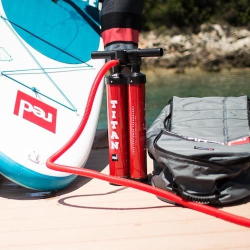 titan pump for paddle board