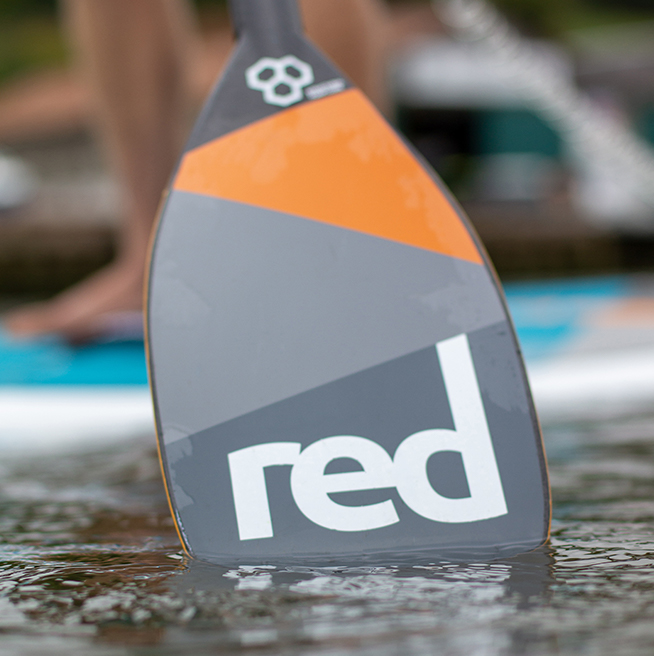 ultimate paddle blade in water