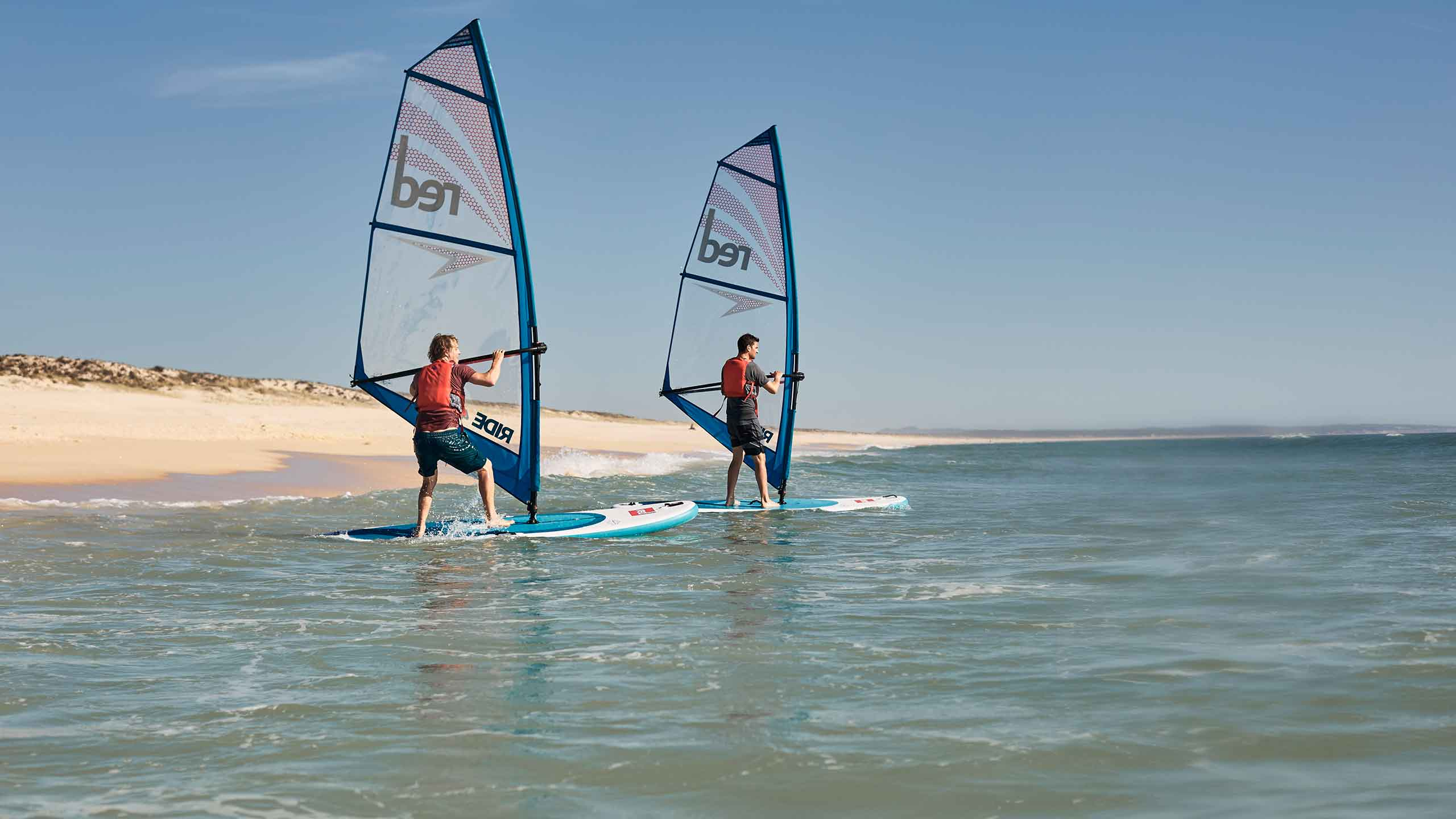 Gréement de windsurf
