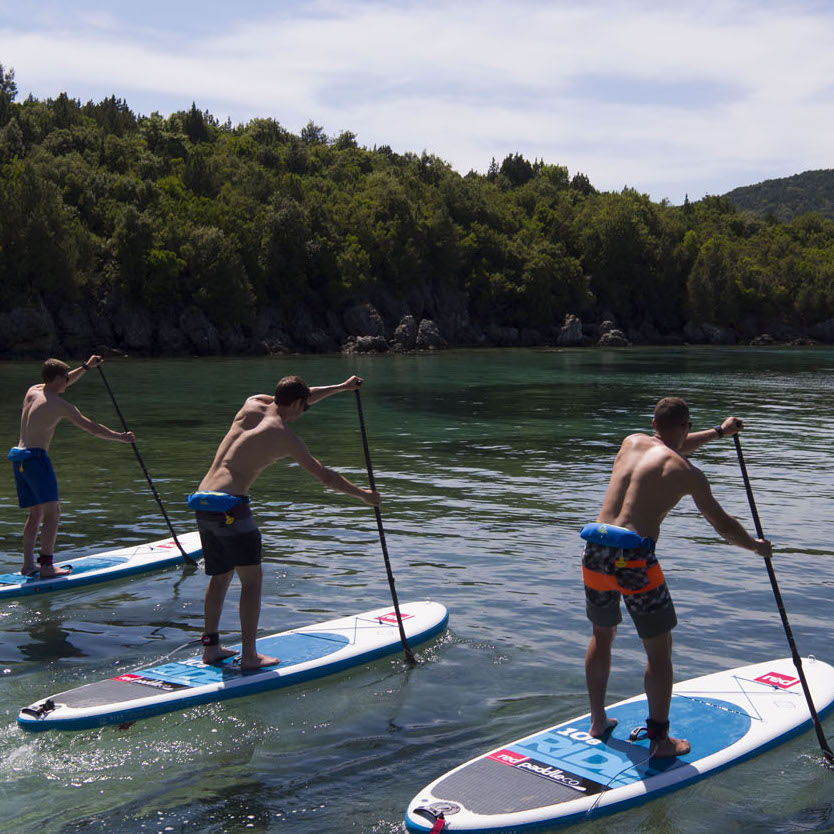 Best SUP board for versatility and all round use, the Ride range