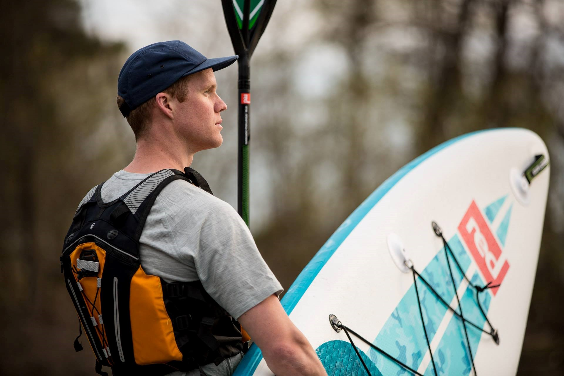 "Red Paddle's 13'2"" Explorer+ Board is Marcus' choice for his Yukon River challenge"