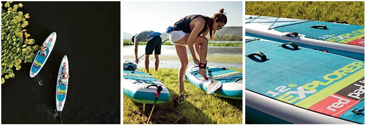 Red Paddle Co Explorer Paddle boards