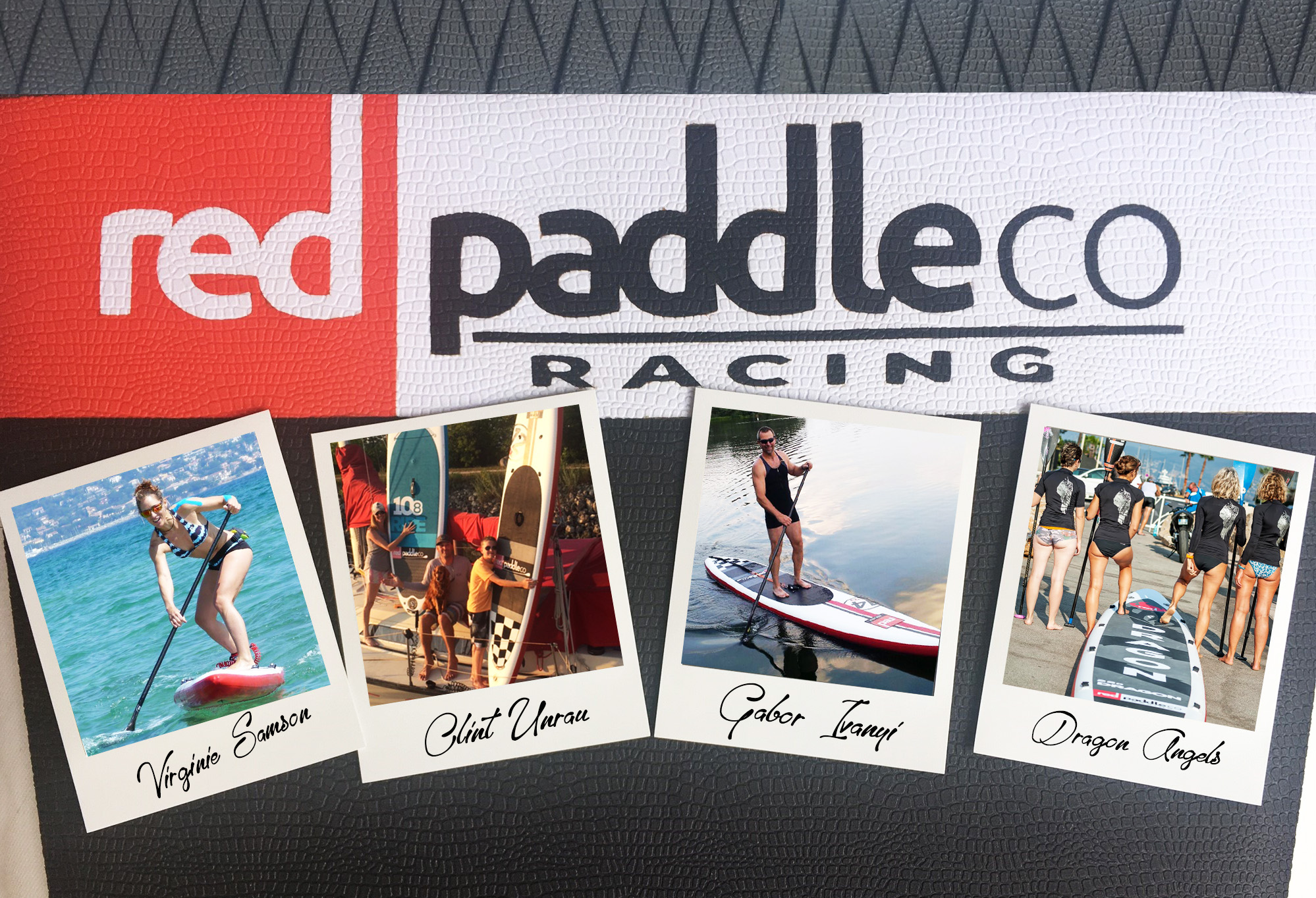 Red paddle Co racing profiles