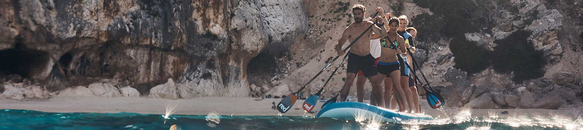 "Exploring the Sardinian coastline with the Red Paddle Co 17'0"" Ride XL"