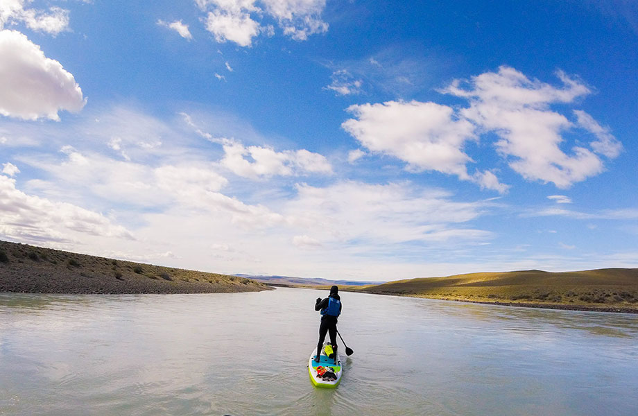 An ultra-sup triathlon with the tempest two