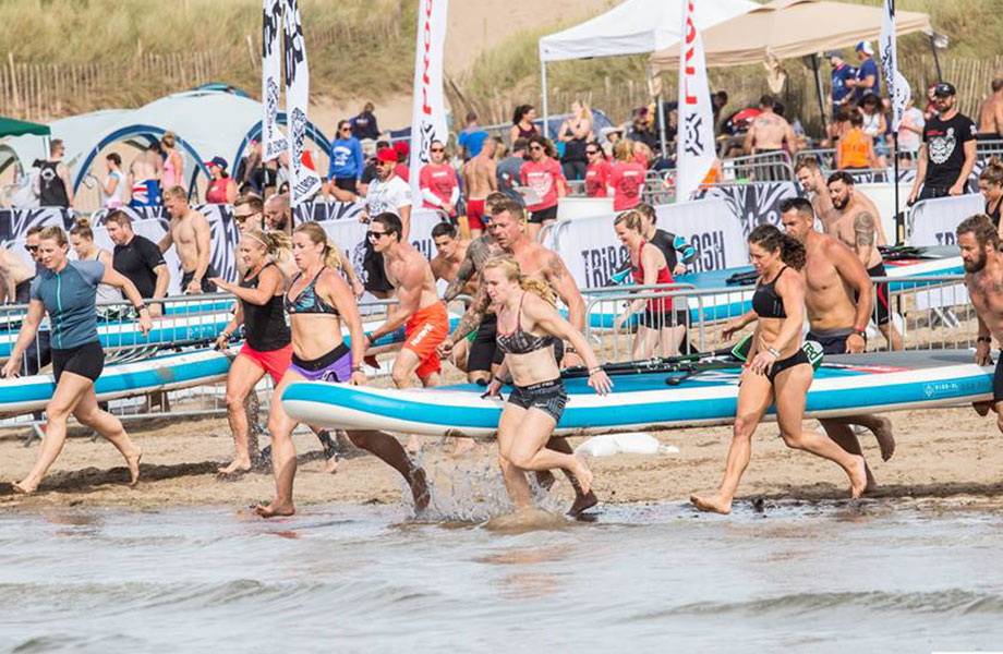 tribal clash SUP race