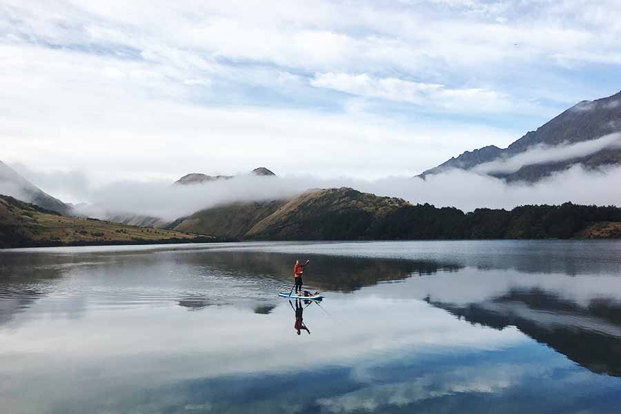 A recipe for sup'cess: sup fishing new zealand
