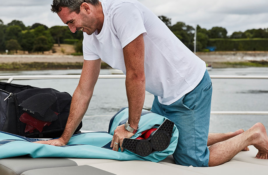 A next step in the future of inflatable paddle boarding…