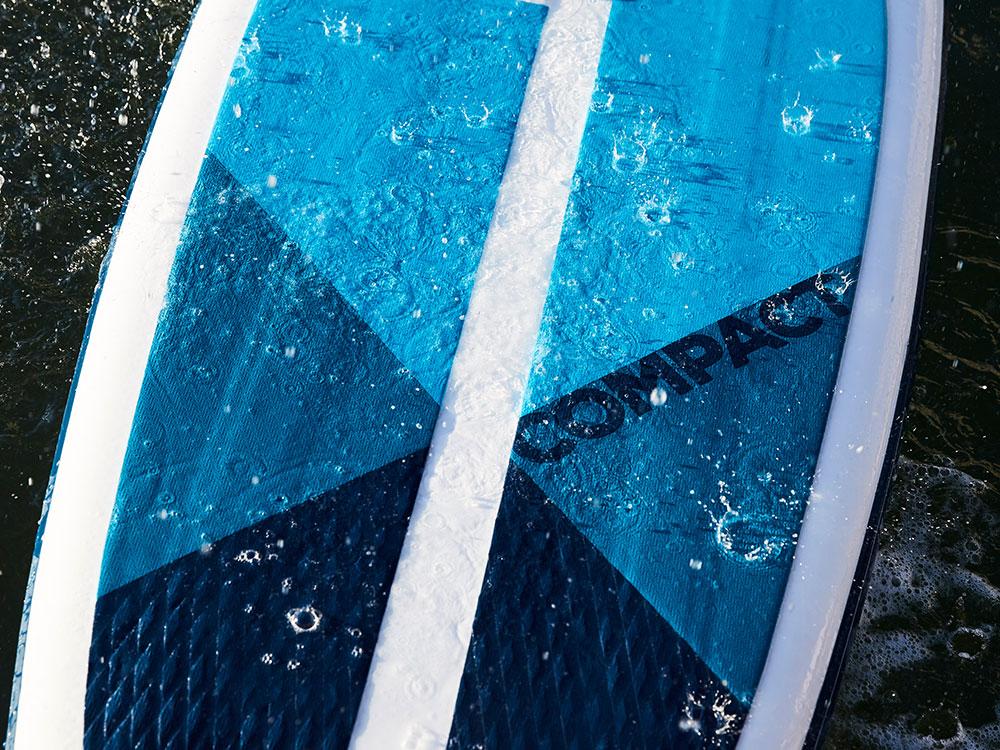 Landing thumb compact deckpad board