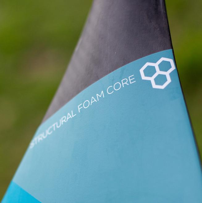 Carbon blade thumb
