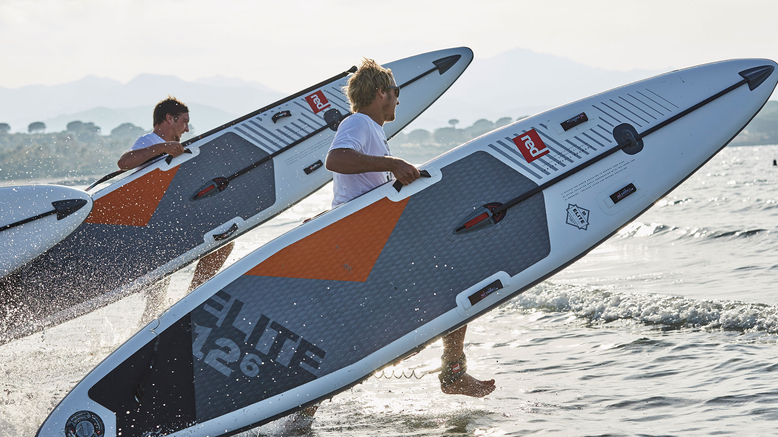 12'6″ X 28″ Elite Racing SUP Board Package