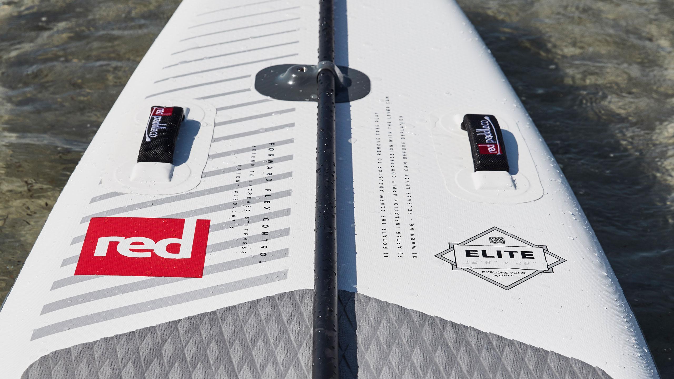 12'6″ X 26″ Elite Racing SUP Board Package