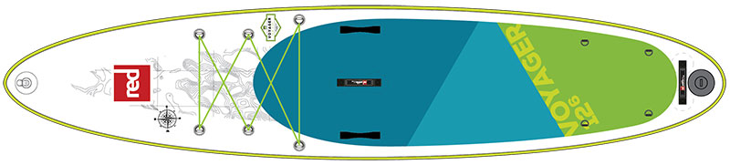 voyager paddle board design