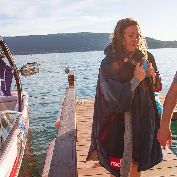 red original womens pro change jacket navy pontoon grande cropped