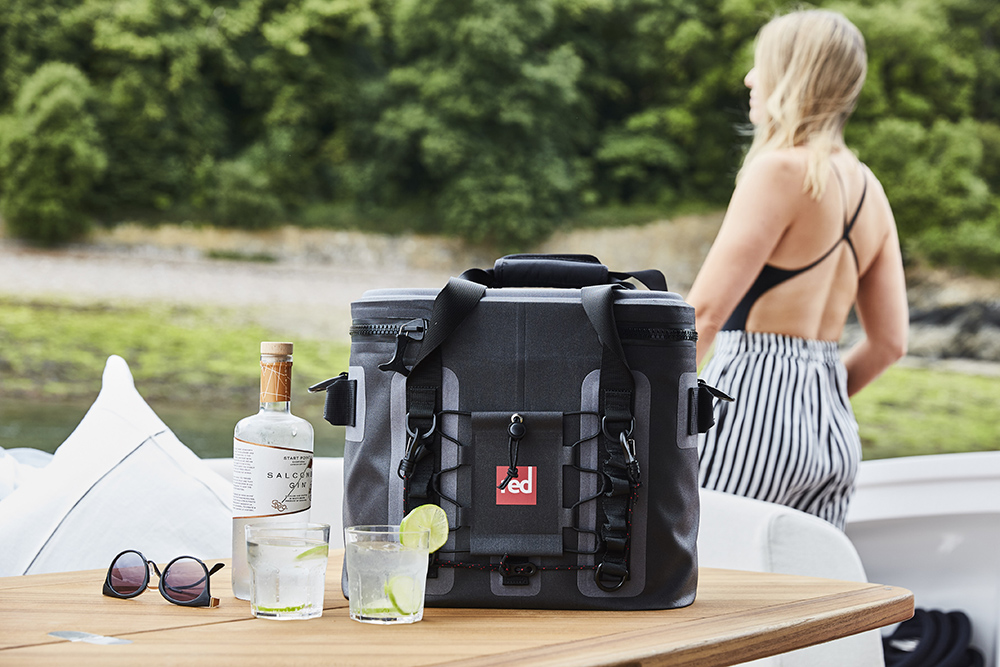 Red Original Cool bag and Salcombe Gin