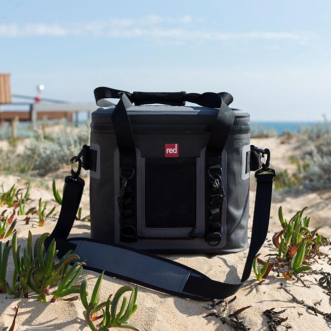 Medium cool bag on beach