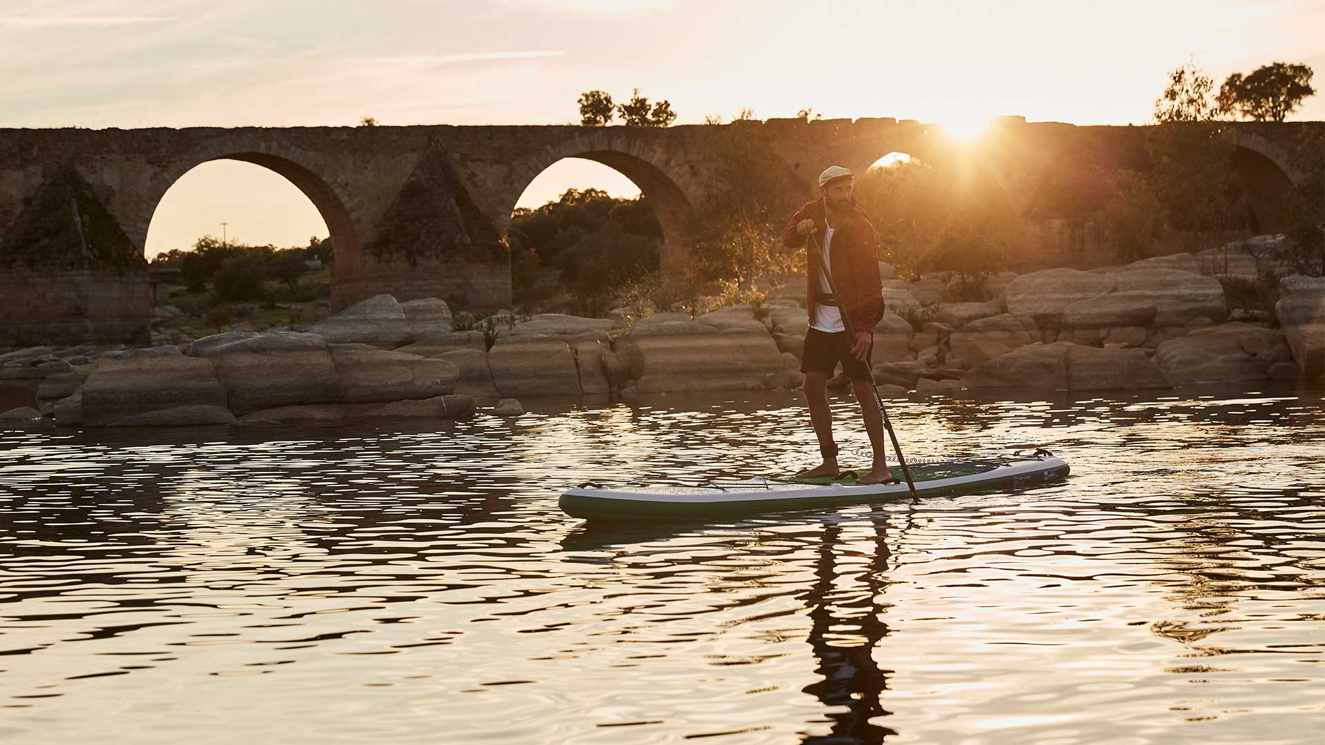 13'2″ Voyager+ Touring Paddle Board Package