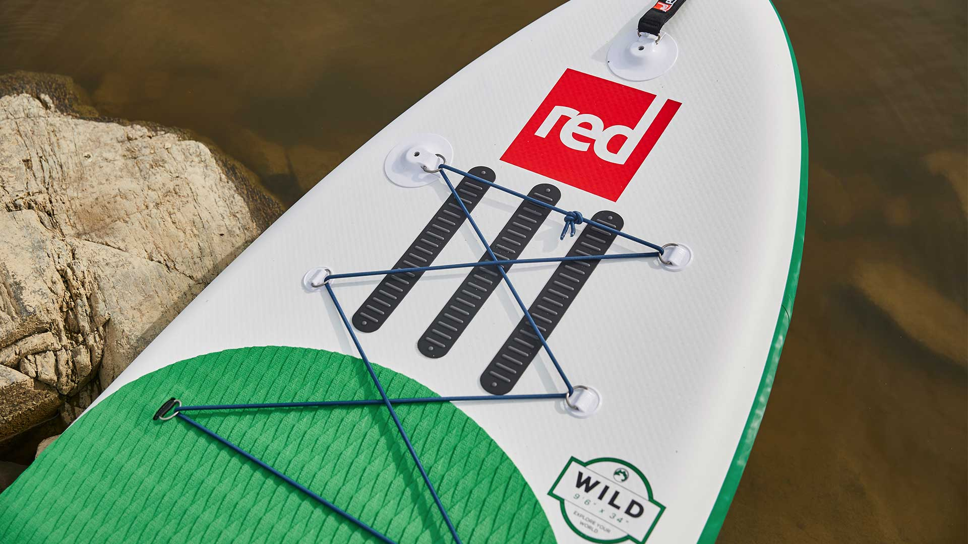 11'0″ Wild MSL Whitewater SUP Board Package