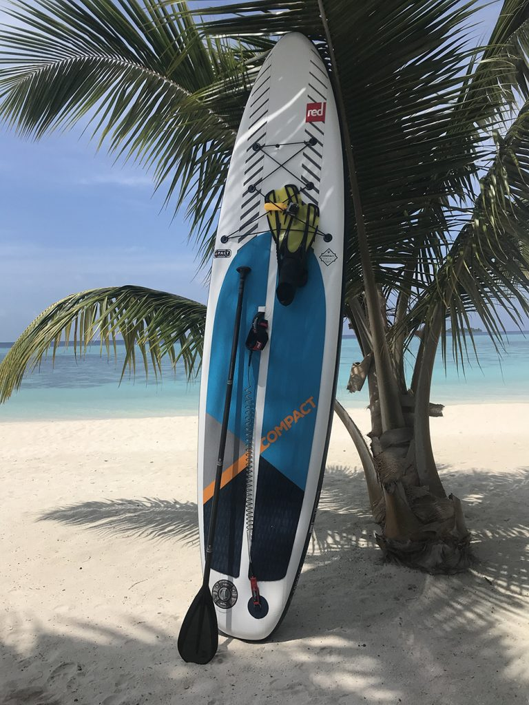 "Red Paddle Co 11'0"" Compact in the Maldives"