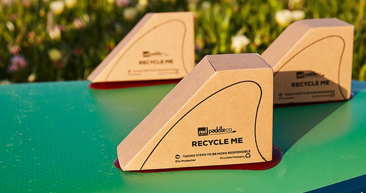 positive packaging fins