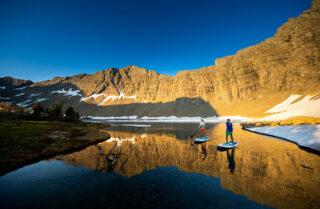blog hike sup swan mountains