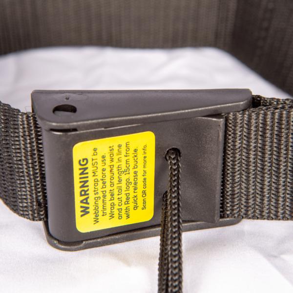 studio image quick release waist belt 2