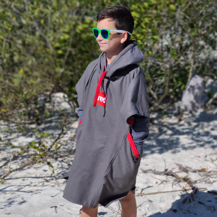 kids grey pro change robe 2