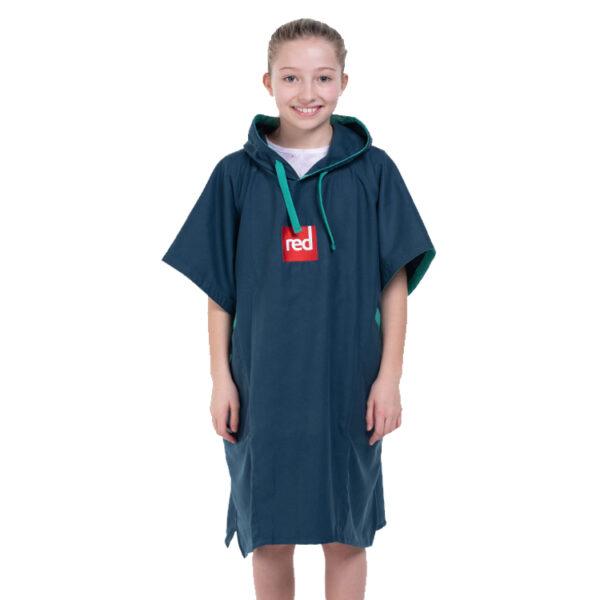 kids navy quick dry robe 4