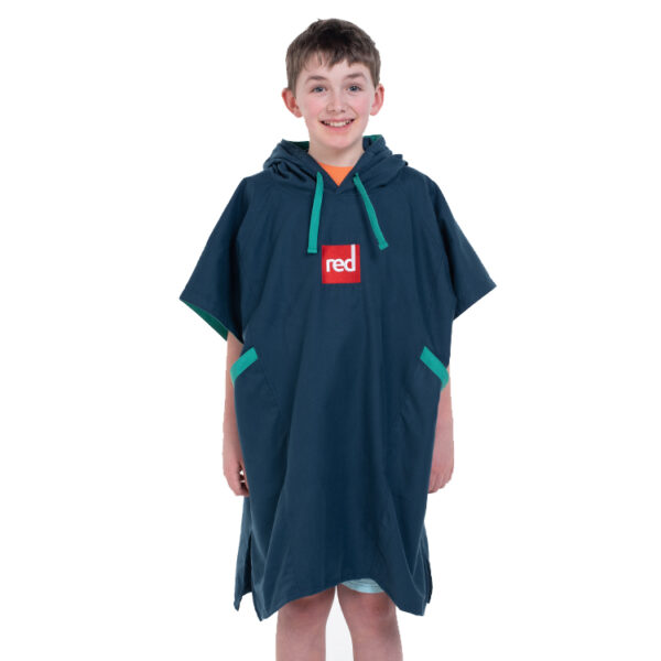 kids navy quick dry robe 5