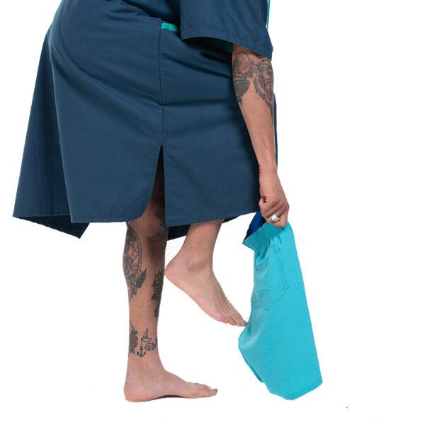mens navy quick dry