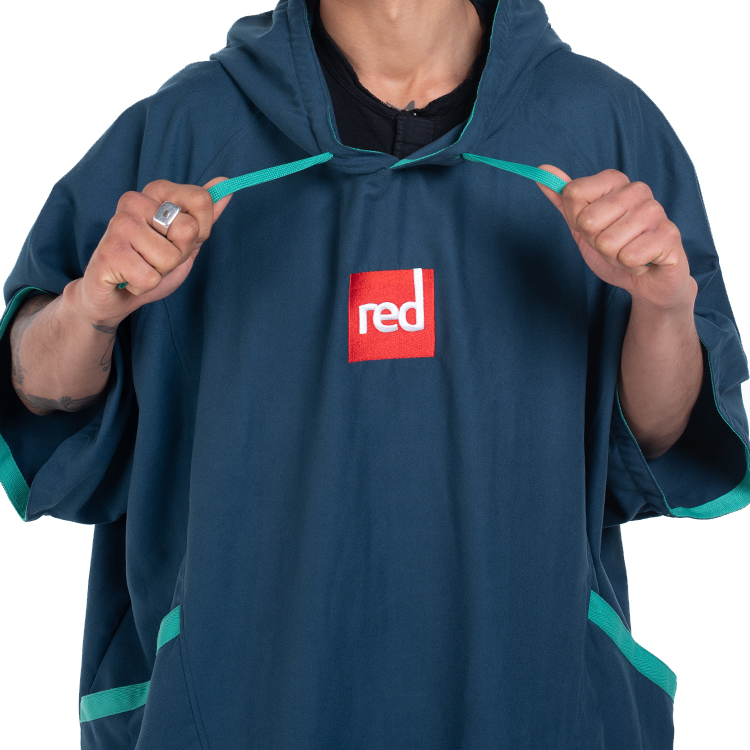 mens navy quick dry robe 2