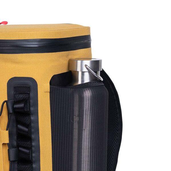 red original coolbag backpack mustard studio pocket